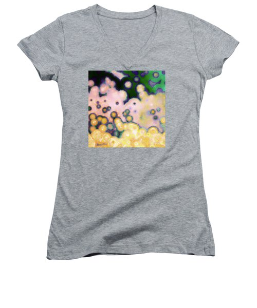 Shaped By The Creator. Romans 8 29 Women's V-Neck T-Shirt