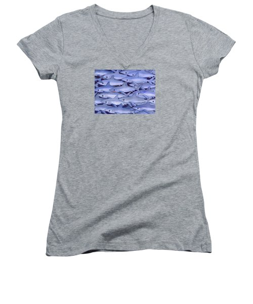 Sharks Women's V-Neck T-Shirt