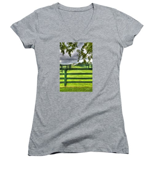 Shawanee Fences Women's V-Neck