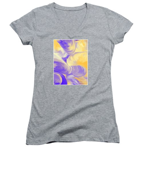 She Sells Sea Shells Women's V-Neck (Athletic Fit)