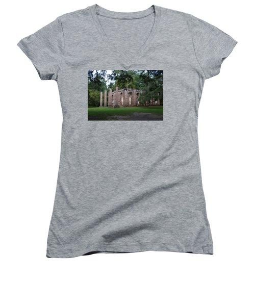 Sheldon Church 4 Women's V-Neck T-Shirt