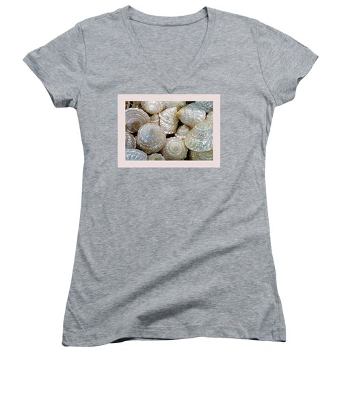 Shells - 4 Women's V-Neck T-Shirt