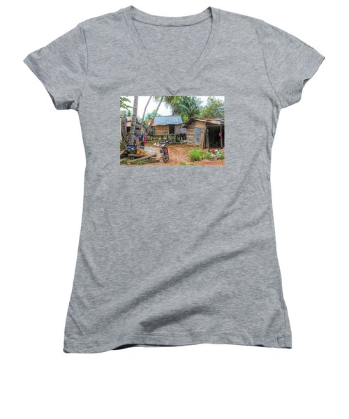 Shelter Home Cambodia Siem Reap I Women's V-Neck