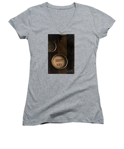 Shift Key Women's V-Neck