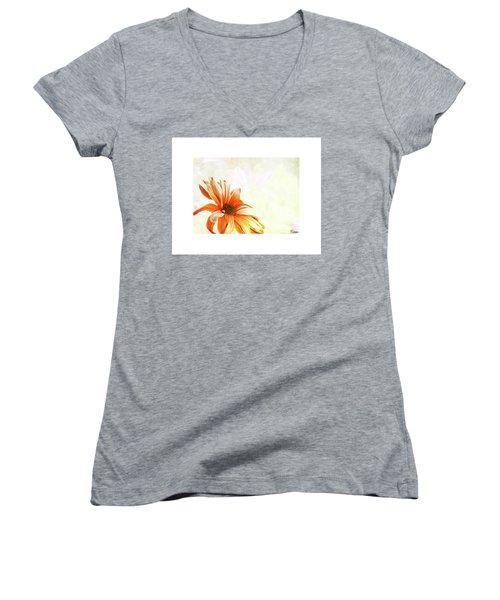 Shine Women's V-Neck T-Shirt (Junior Cut)