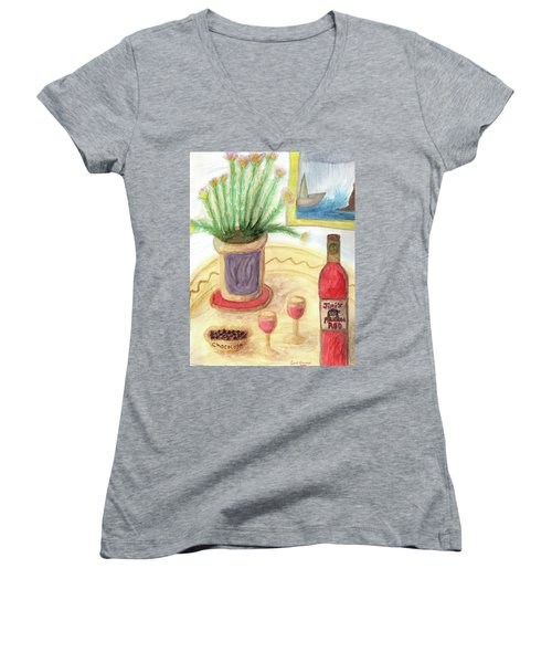 Shipwreck Cove  Women's V-Neck (Athletic Fit)