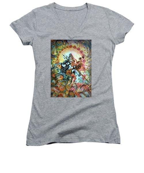 Shiva Shakti Women's V-Neck T-Shirt
