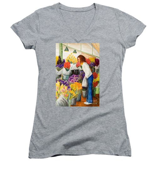 Shopping Pike's Market Women's V-Neck (Athletic Fit)