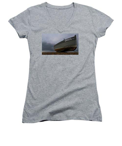 Shoreham Boat Women's V-Neck (Athletic Fit)