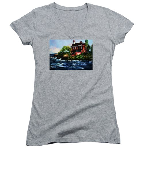 Shoreline Light Women's V-Neck T-Shirt