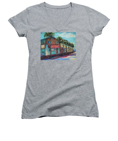 Shorelines And Pete's Women's V-Neck T-Shirt