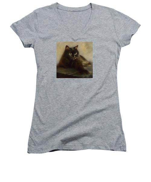 Shorty Women's V-Neck T-Shirt