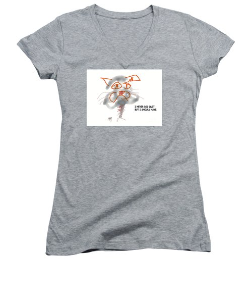 Should Have Women's V-Neck T-Shirt