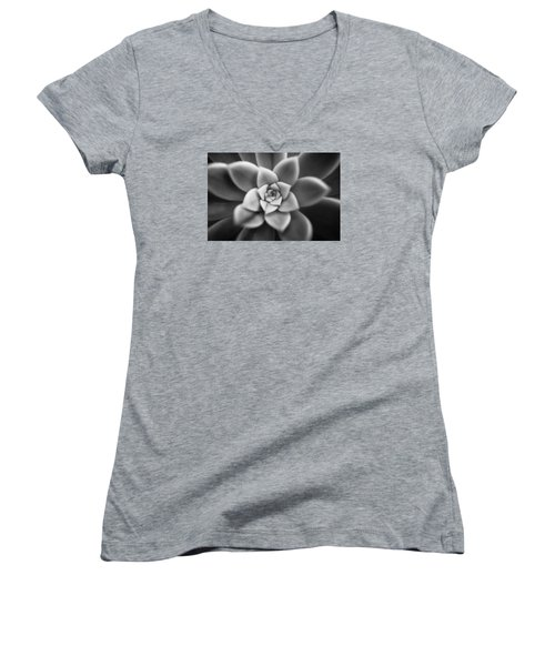 Shy Women's V-Neck T-Shirt