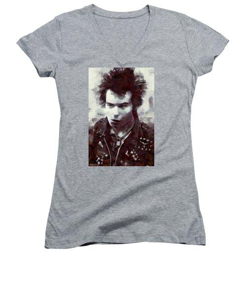 Sid Women's V-Neck T-Shirt