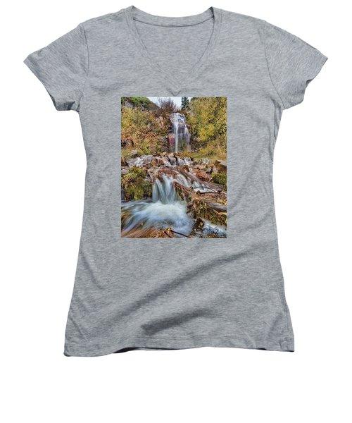 Sierra Waterfall Women's V-Neck