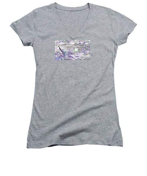 Silent Journey Women's V-Neck T-Shirt