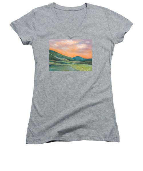 Silent Reverie Women's V-Neck T-Shirt