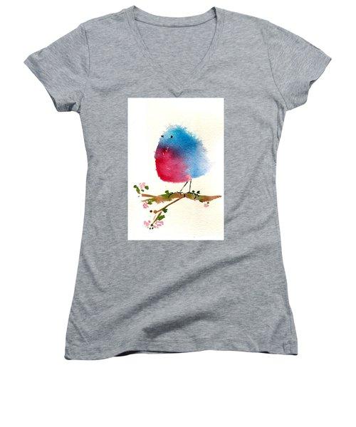 Silly Bird #1 Women's V-Neck T-Shirt