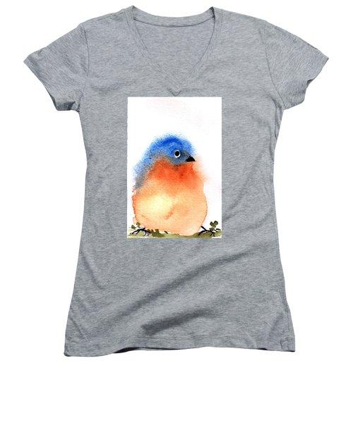 Silly Bird #2 Women's V-Neck T-Shirt
