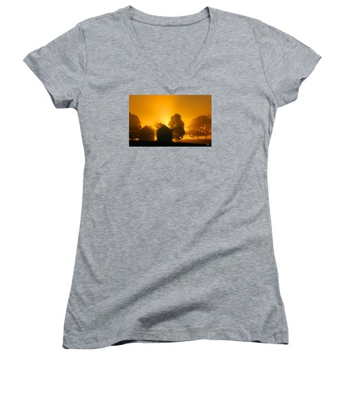 Silo Sunrise Women's V-Neck