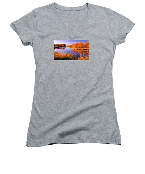 Silver Creek Fly Fishing Only Women's V-Neck