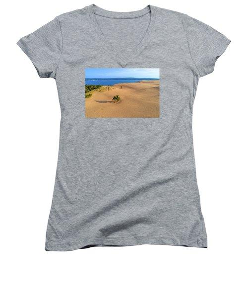 Silver Lake Dunes Women's V-Neck