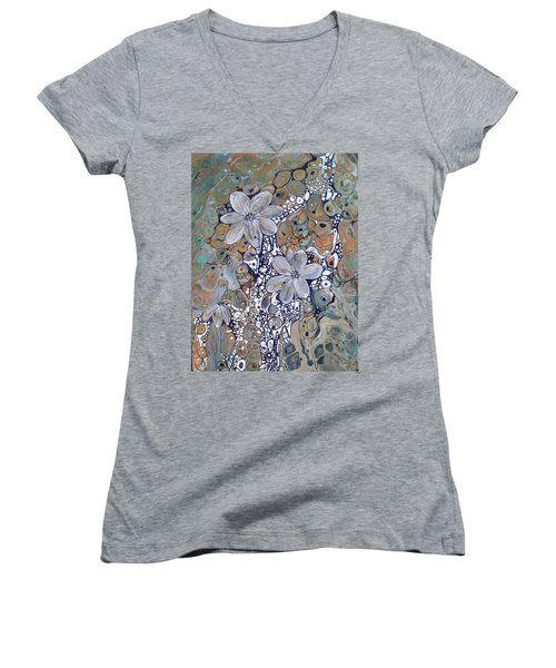 Silver Lining Women's V-Neck (Athletic Fit)