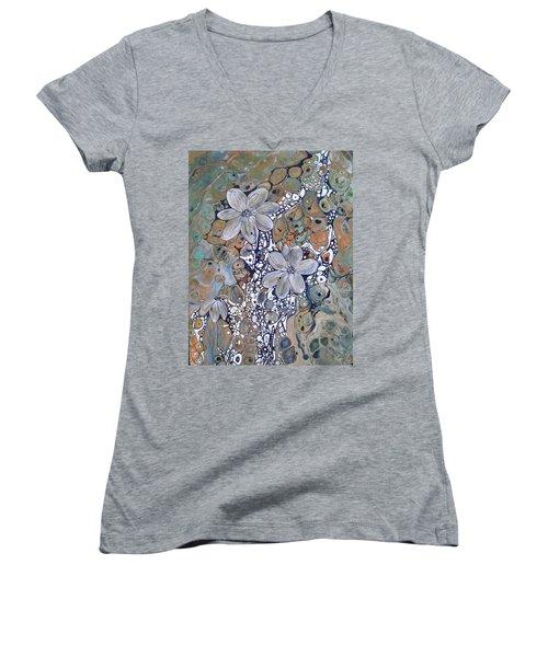 Silver Lining Women's V-Neck T-Shirt