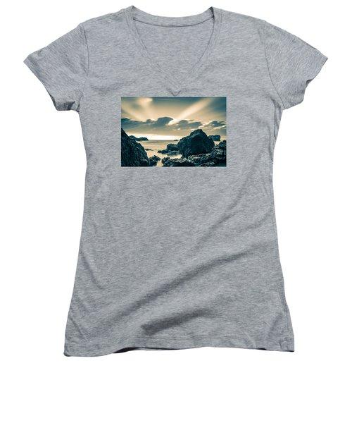 Silver Moment Women's V-Neck T-Shirt