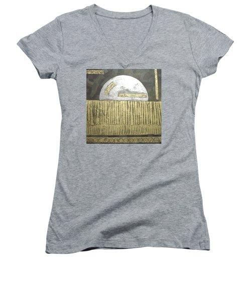 Silver Moon Women's V-Neck T-Shirt