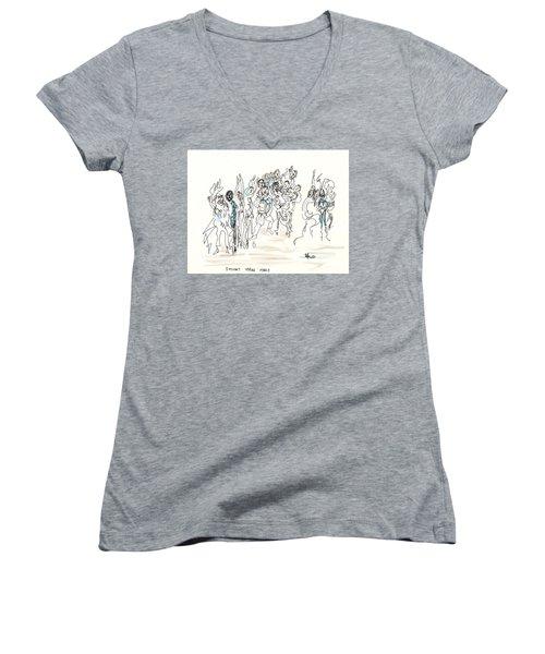 Simchat Torah Women's V-Neck T-Shirt