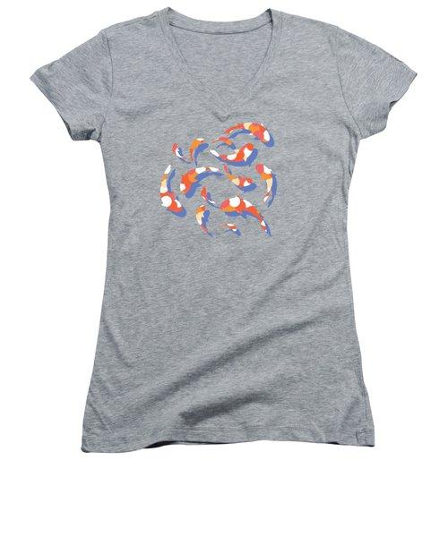 Koi Women's V-Neck T-Shirt