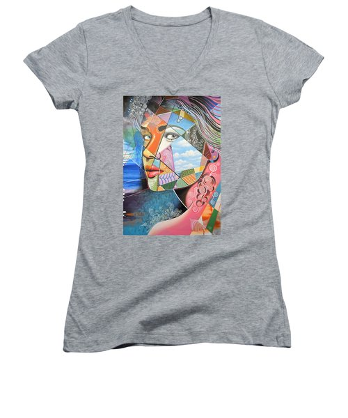 Sincerely Women's V-Neck T-Shirt