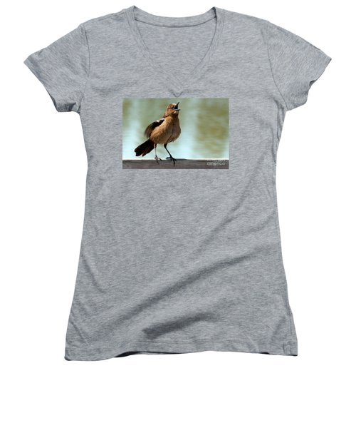 Sing Out Loud Women's V-Neck