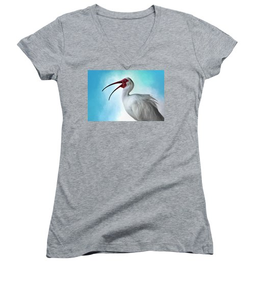 Sing, Sing A Song... Women's V-Neck