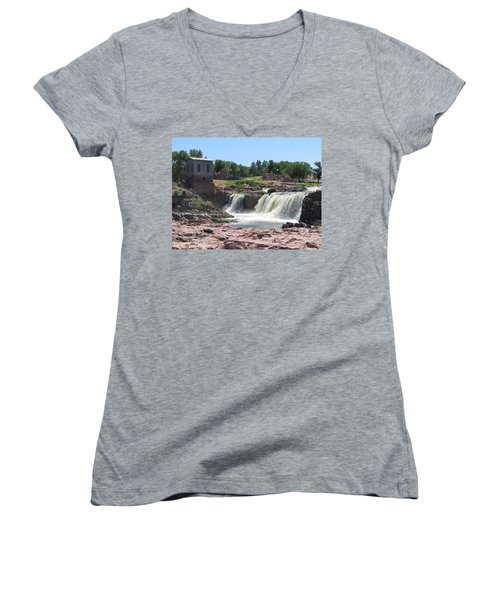 Sioux Falls Women's V-Neck (Athletic Fit)
