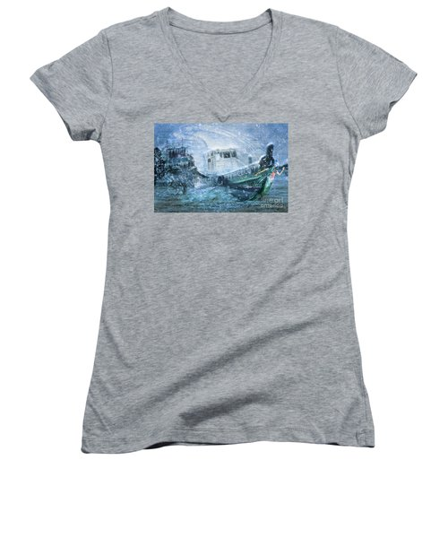 Siren Ship Women's V-Neck