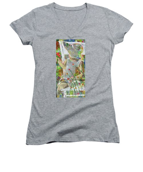 Sitting A Spell... Women's V-Neck