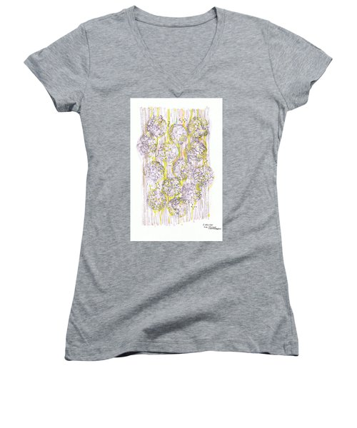 Size Exclusion Chromatography Women's V-Neck