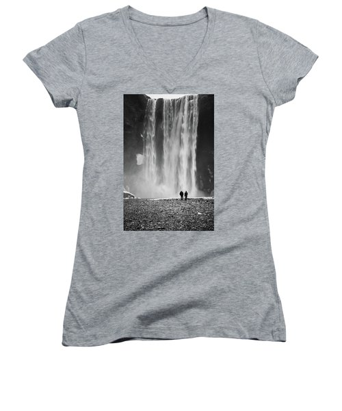 Skogafoss Women's V-Neck