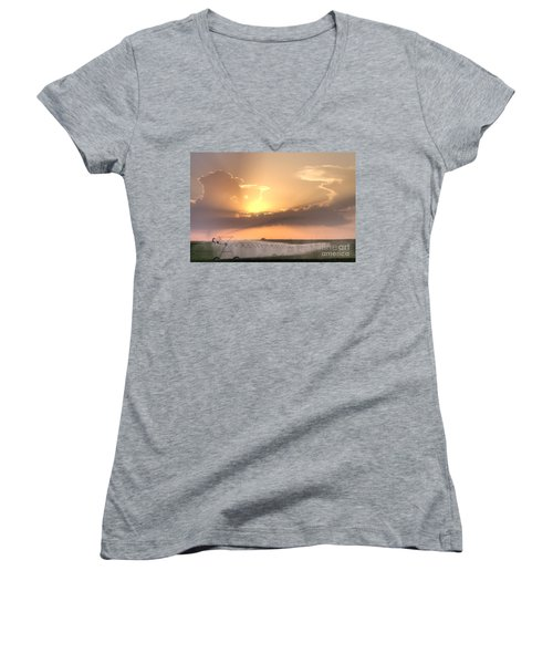 Sky And Water Women's V-Neck