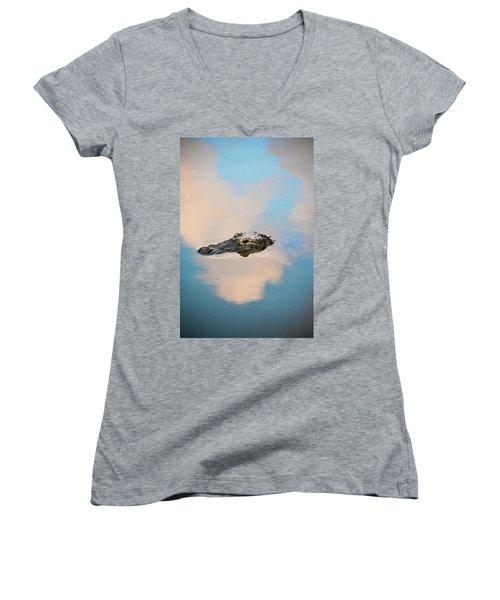 Sky Gator Women's V-Neck T-Shirt