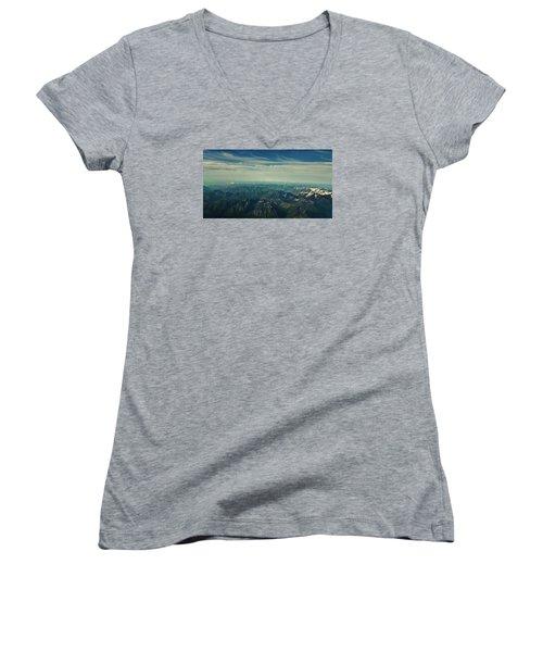 Sky High Women's V-Neck T-Shirt
