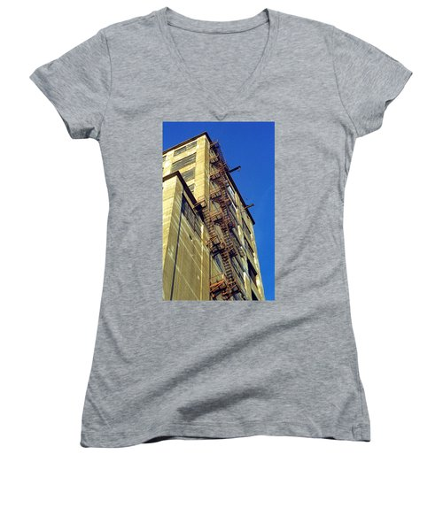 Sky High Warehouse Women's V-Neck
