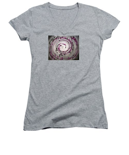 Sky Swirl Women's V-Neck