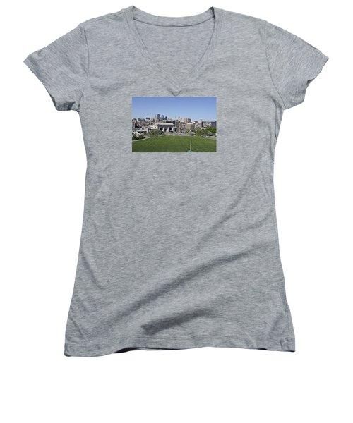 Skyline Women's V-Neck T-Shirt