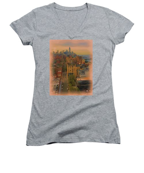 Skyline Women's V-Neck