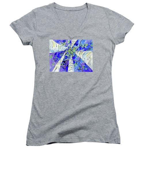 Skyward Women's V-Neck (Athletic Fit)