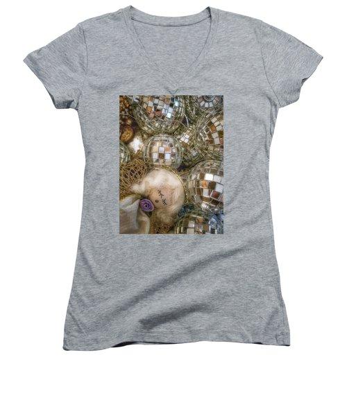 Sleeping Angel Women's V-Neck T-Shirt